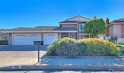 918 Herbine Street, La Verne, CA 91750 - MLS#: CV21009309