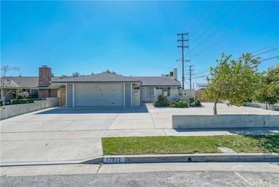 17322 Yorkshire Avenue, Yorba Linda, CA 92886 - MLS#: CV21036095