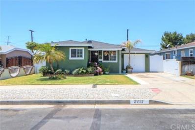 21137 Normandie Avenue, Torrance, CA 90501 - MLS#: CV21145055