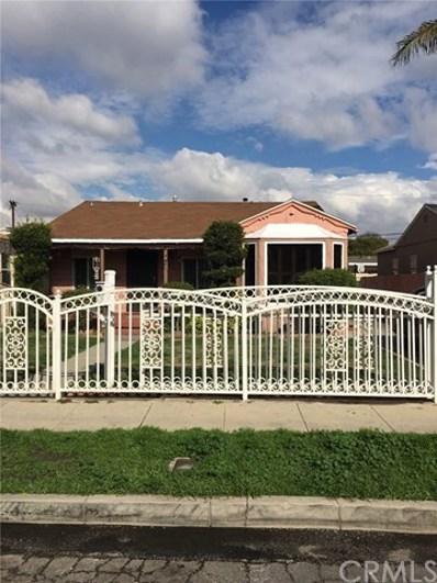 3821 Agnes Avenue, Lynwood, CA 90262 - MLS#: DW17113167