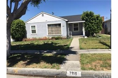7115 Broadway Avenue, Whittier, CA 90606 - MLS#: DW17154419