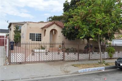 11149 Berendo Avenue, Los Angeles, CA 90044 - MLS#: DW17175666