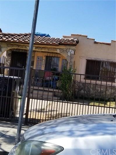739 S Woods Avenue, East Los Angeles, CA 90022 - MLS#: DW17216192