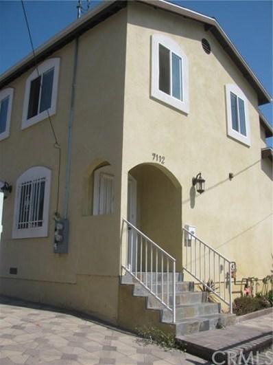 7116 S Denker Avenue, Los Angeles, CA 90047 - MLS#: DW17229839