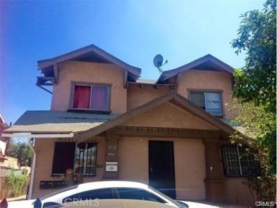 4716 S Figueroa Street, Los Angeles, CA 90037 - MLS#: DW17264048