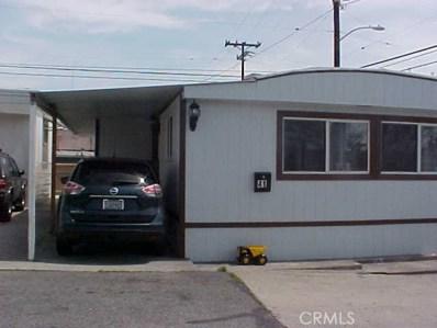1414 W El Segundo Boulevard UNIT 41, Gardena, CA 90249 - MLS#: DW18081275