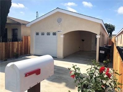 8219 Crockett Boulevard, Los Angeles, CA 90001 - MLS#: DW18106292