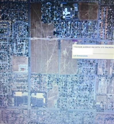 0 Vac\/Cor Avenue R8\/28th Ste, Palmdale, CA 93550 - MLS#: DW18113436