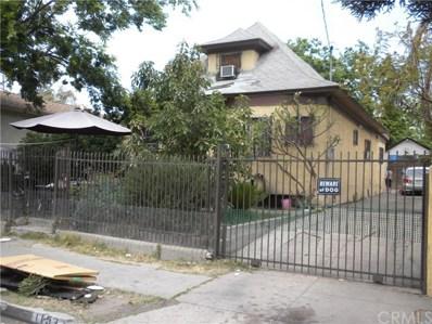 1153 E 33rd Street, Los Angeles, CA 90011 - MLS#: DW18126721