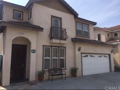 5808 Clara Street UNIT F, Bell Gardens, CA 90201 - MLS#: DW18132235
