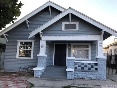 471 E 48th Street, Los Angeles, CA 90011 - MLS#: DW18136123