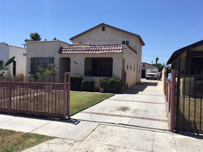 438 W 93rd Street, Los Angeles, CA 90003 - MLS#: DW18139946