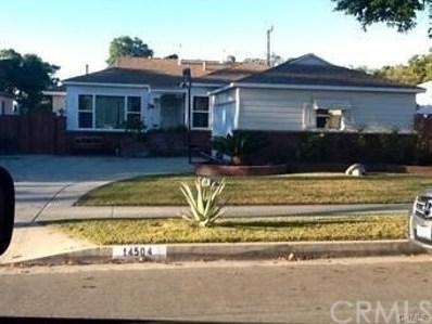 14504 Hayward Street, Whittier, CA 90603 - MLS#: DW18144924