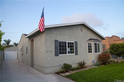 1110 Alton Street, Wilmington, CA 90744 - MLS#: DW18165232