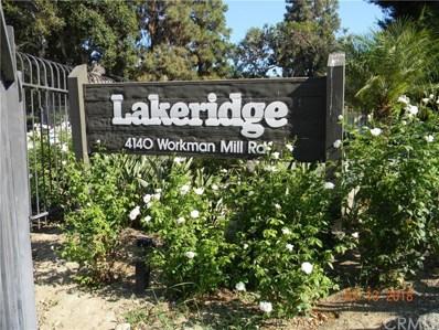4140 Workman Mill Road UNIT 235, Whittier, CA 90601 - MLS#: DW18171244