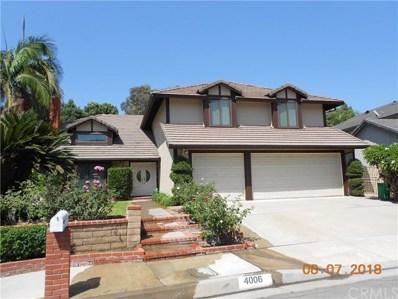 4006 Overcrest Drive, Whittier, CA 90601 - MLS#: DW18192768