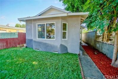 245 E Sunset Street, Long Beach, CA 90805 - MLS#: DW18198543