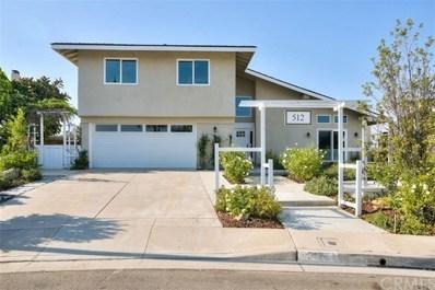 512 S Circulo Lazo, Anaheim Hills, CA 92807 - MLS#: DW18203712