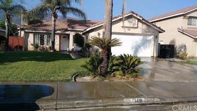 1418 Keystone Drive, San Bernardino, CA 92407 - MLS#: DW18218082