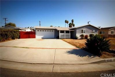 18215 La Cortita Street, Rowland Heights, CA 91748 - MLS#: DW18221713