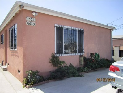 1668 E 113th Street, Los Angeles, CA 90059 - MLS#: DW18223243