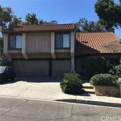 11163 Canyon Meadows Drive, Whittier, CA 90601 - MLS#: DW18251880