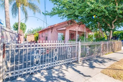 1821 E Gage Avenue, Los Angeles, CA 90001 - MLS#: DW18253249
