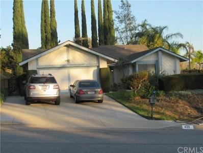 426 Acaso Drive, Walnut, CA 91789 - MLS#: DW18256258