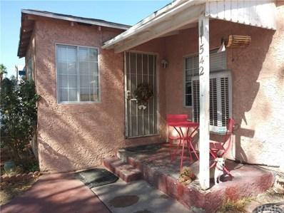 1542 W 20th Street, San Bernardino, CA 92411 - MLS#: DW18256322