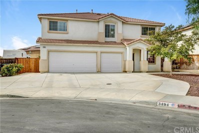 3494 Windmill Court, Perris, CA 92571 - MLS#: DW18260392