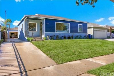 4753 Lakewood Boulevard, Lakewood, CA 90712 - MLS#: DW18265404