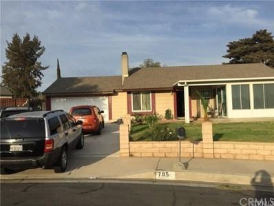 795 N Wisteria Avenue, Rialto, CA 92376 - MLS#: DW18278955