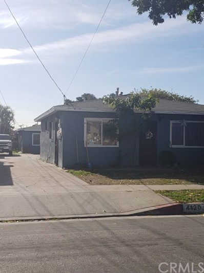 4118 Walnut Street, Cudahy, CA 90201 - MLS#: DW18296293