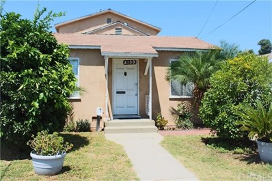 2139 E Poppy Street, Long Beach, CA 90805 - MLS#: DW19009266