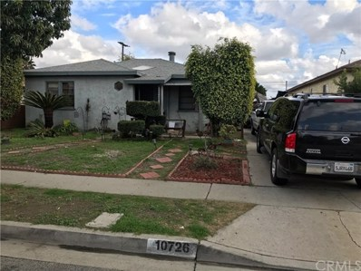 10726 Madge Avenue, South Gate, CA 90280 - MLS#: DW19010511