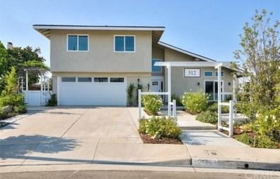 512 S Circulo Lazo, Anaheim Hills, CA 92807 - MLS#: DW19018725