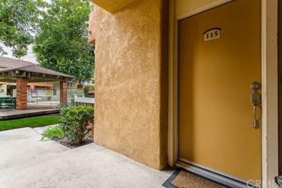 16040 Leffingwell Road UNIT 115, Whittier, CA 90603 - MLS#: DW19033780