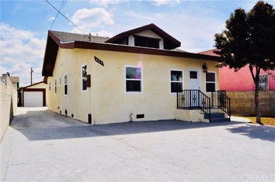 824 S Hicks Avenue, East Los Angeles, CA 90023 - MLS#: DW19072613