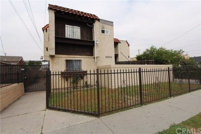 5951 Corona Avenue UNIT E, Huntington Park, CA 90255 - MLS#: DW19117619
