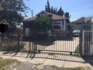 3719 Mettler Street, Los Angeles, CA 90011 - MLS#: DW19125327