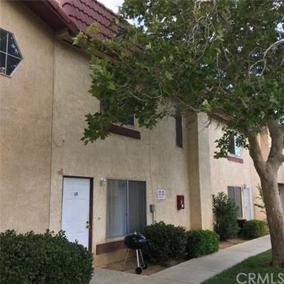 1750 E Avenue Q14 UNIT 10, Palmdale, CA 93550 - MLS#: DW19190648