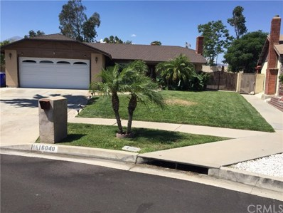 16040 Fairview Court, Fontana, CA 92336 - MLS#: DW19274028