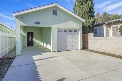 8211 Morton Avenue, Los Angeles, CA 90001 - MLS#: DW20001147