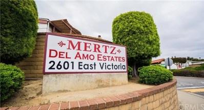2601 E Victoria Street UNIT 282, Compton, CA 90220 - MLS#: DW20039118