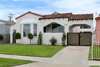 6707 4th Avenue, Los Angeles, CA 90043 - MLS#: DW21084704