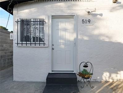 519 W 65th Street, Los Angeles, CA 90044 - MLS#: DW21182369