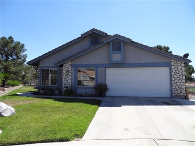 41811 Candlewood Drive, Cherry Valley, CA 92223 - MLS#: EV17183664