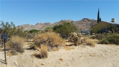 61978 Sunburst Circle, Joshua Tree, CA 92252 - MLS#: EV17212493
