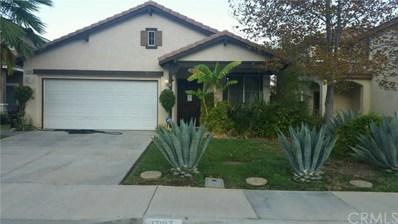 17187 Bronco Lane, Moreno Valley, CA 92555 - MLS#: EV17231377