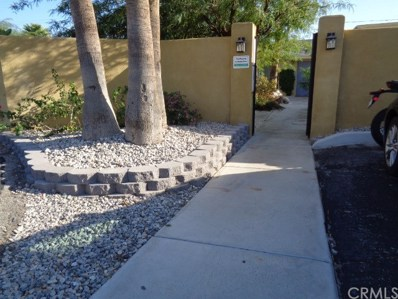 807 E Cottonwood Road UNIT 7, Palm Springs, CA 92262 - MLS#: EV17258421